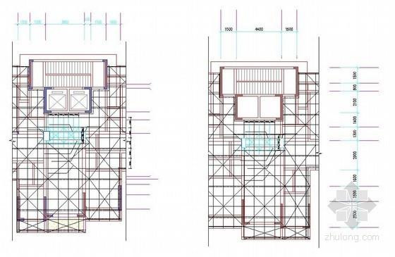 [广西]高层商业楼高大模板搭设拆除施工方案