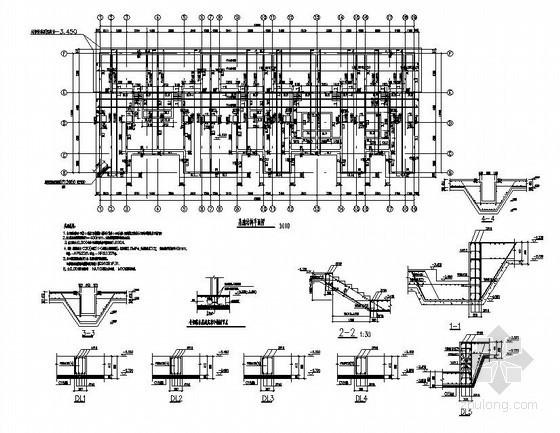 苏州某3层木结构别墅结构设计图
