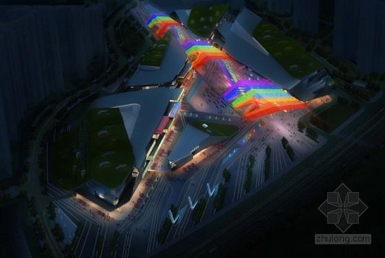 [成都]滨海区现代风格平滑形体商业广场建筑设计方案文本(屋顶上的耕作)