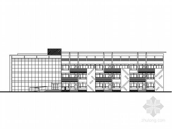 [合肥]三层9班幼儿园建筑施工图(含效果图)