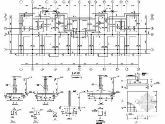[江西]六层砌体结构住宅楼结构施工图
