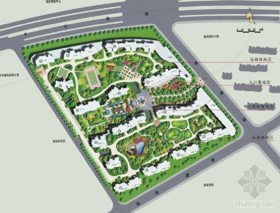 [上海]住宅区景观设计方案