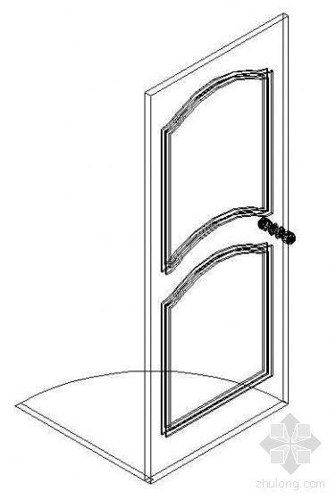 门CAD模型图块30