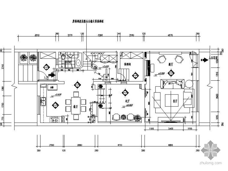 混搭三层连体别墅装修图