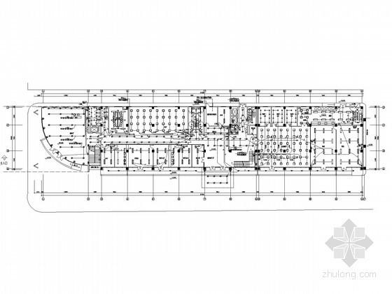 大型综合楼全套电气施工图纸(含娱乐、招待所及办公楼)
