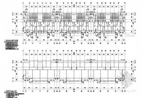 5层带阁楼砖混住宅结构施工图