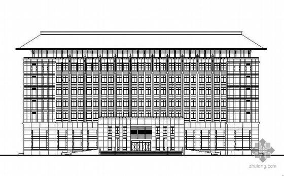 [安徽]某五层欧式办公楼建筑施工图