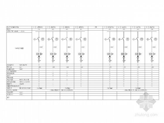医院电缆分界室工程电气图纸