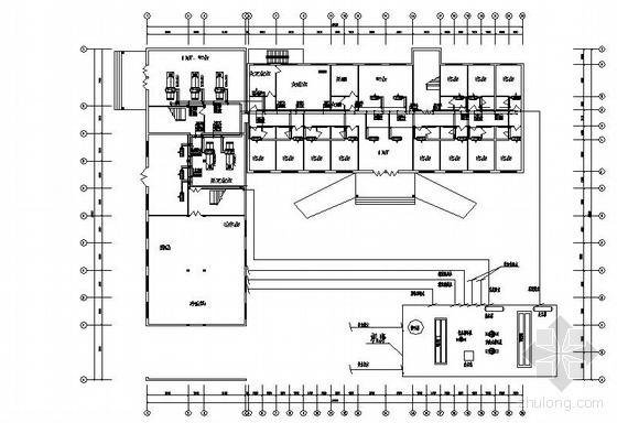 河北某宾馆水源热泵空调施工图