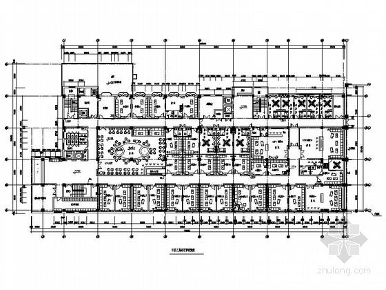 [河北]某豪华酒店KTV室内装修施工图