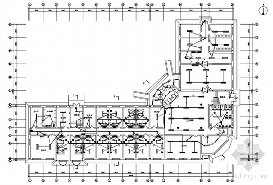 黑龙江某儿童福利院电气施工图