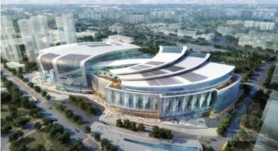[辽宁]大型商业广场项目高大模板支设专项施工方案(326页 超详细计算书)