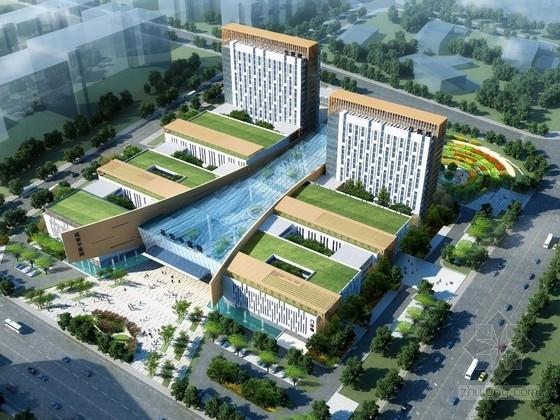 [陕西]三级甲等综合中医院迁建项目设计方案文本