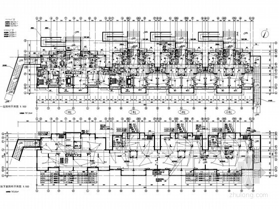 [上海]多层住宅楼强弱电施工图