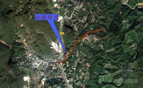 [云南]小(一)型蓄水水库进场路工程施工图