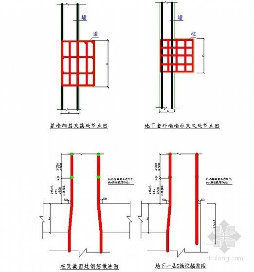 [北京]办公楼钢筋工程施工方案(长城杯)