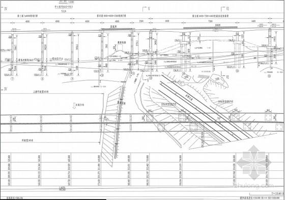[福建]含群桩基础变截面等截面悬浇预应力连续箱梁刚构T梁六联大桥图纸275张