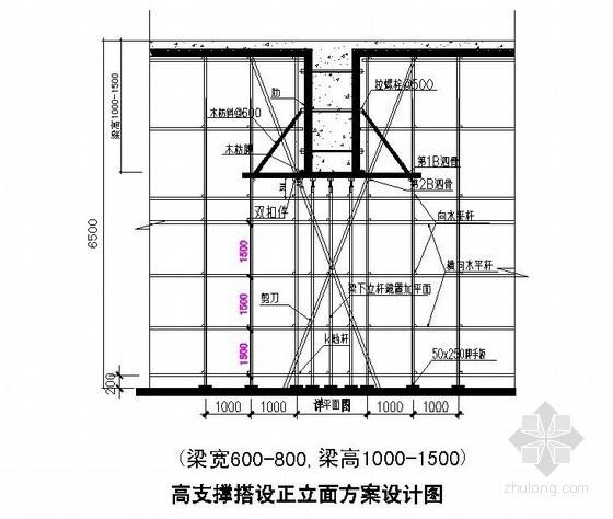 [广东]住宅工程高支模施工方案(12.25m、计算书)