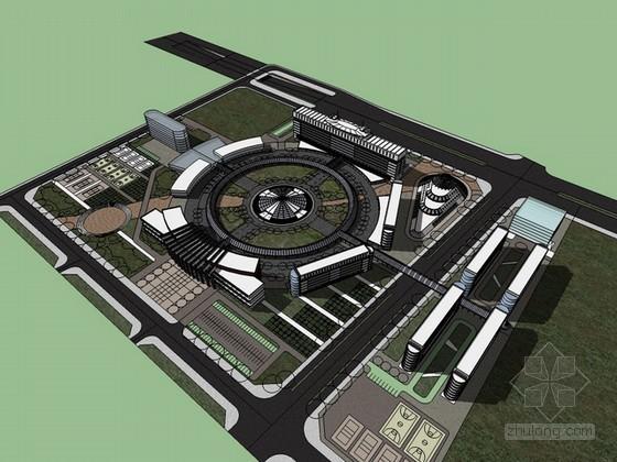 校园规划概念设计