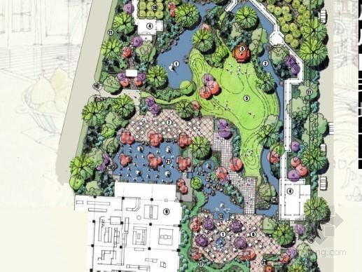 [北京]饭店庭院环境设计方案