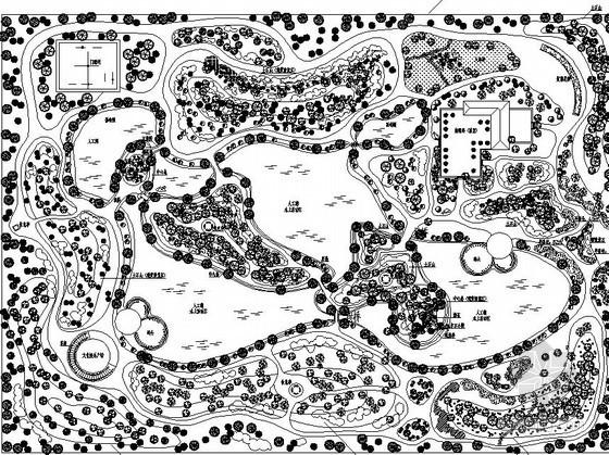 某公园老年活动区总体规划设计