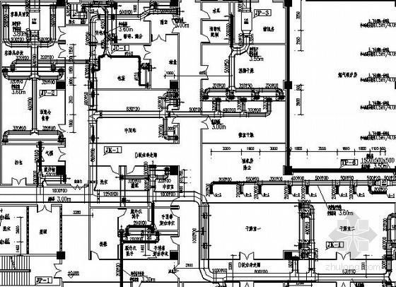 [贵阳]制剂车间空调通风及防排烟系统设计施工图