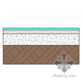 混凝土地面-现制水磨石面层 90mm