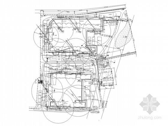 小区临时用电电气施工图