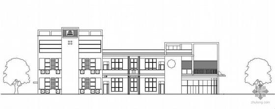 某城市居住小区六班幼儿园建筑设计方案