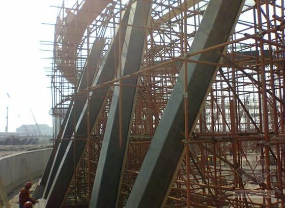[QC成果]提高冷却塔现浇人字柱清水混凝土一次验收合格率