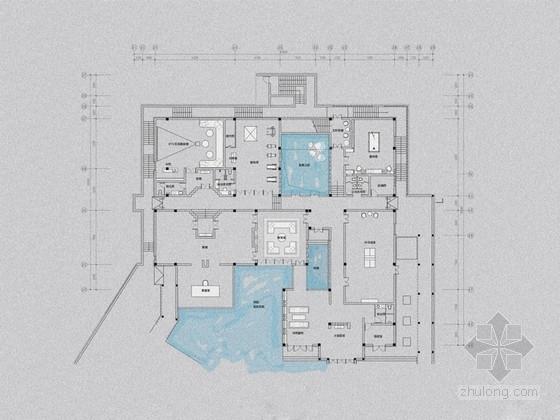 [安徽]休闲度假新中式会所室内深化设计方案(含效果图)