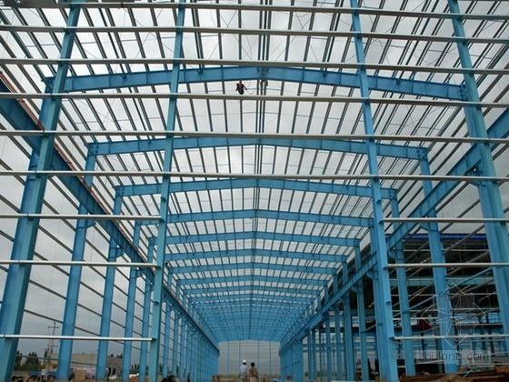 钢结构厂房工程监理规划(2014年 流程图 范本)