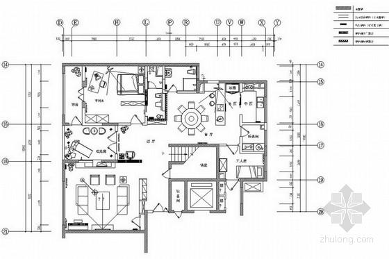 [北京] 现代豪华风格双层别墅室内装修图(含实景图)