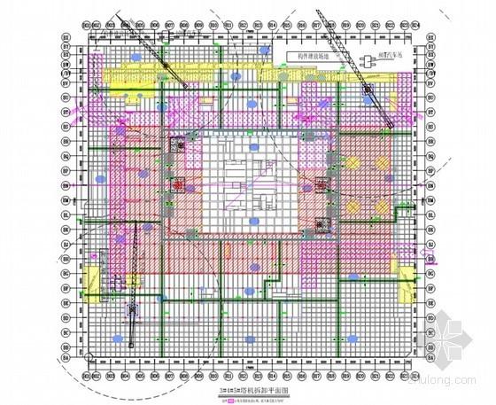 [广东]超高层核心筒混合结构办公楼工程塔吊拆卸工程施工方案