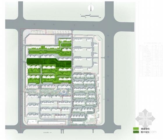 西班牙风格住宅区分析图