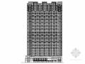 现代风格超高层商务酒店建筑设计方案图