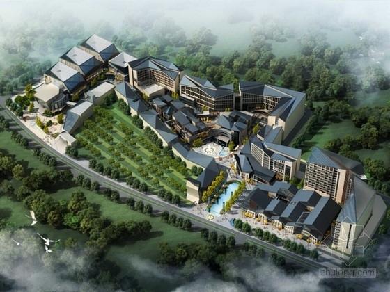 [广西]现代风格商业区规划设计方案文本