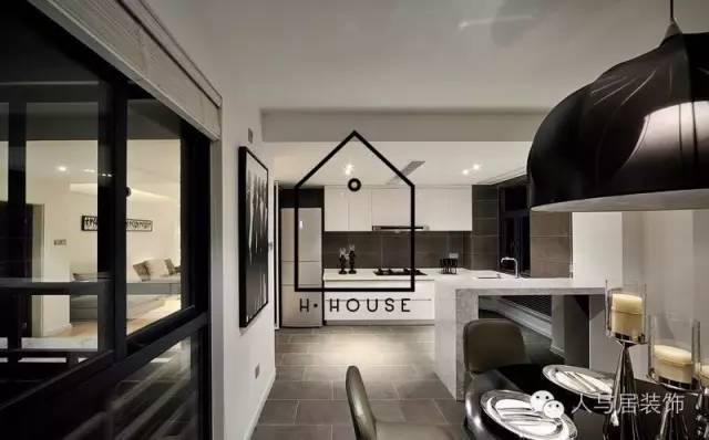 室内设计--黑白简约主义_1