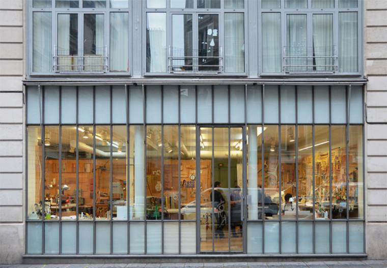 建筑师给自己设计的办公室,什么样的都有_37