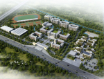 [广东]外国语学校附属小学、幼儿园项目建筑设计方案文本(两套)