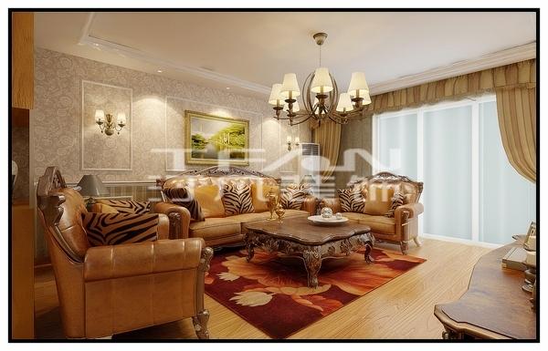 滨水家园 137平米新古典风格---合肥汀凡装饰