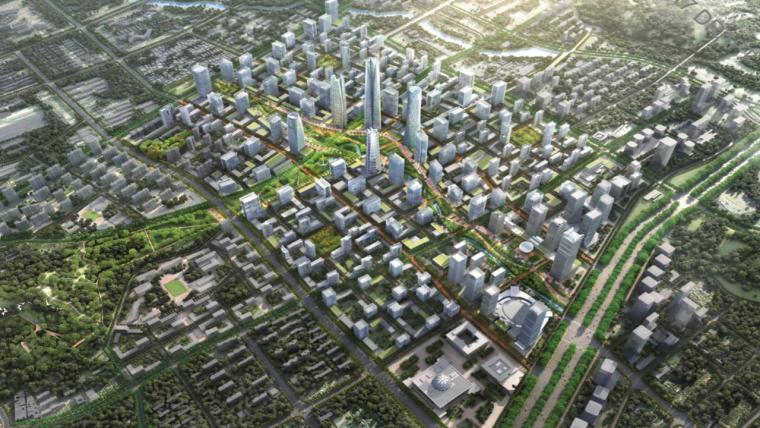济南市中央商务区市政工程BIM技术应用_1