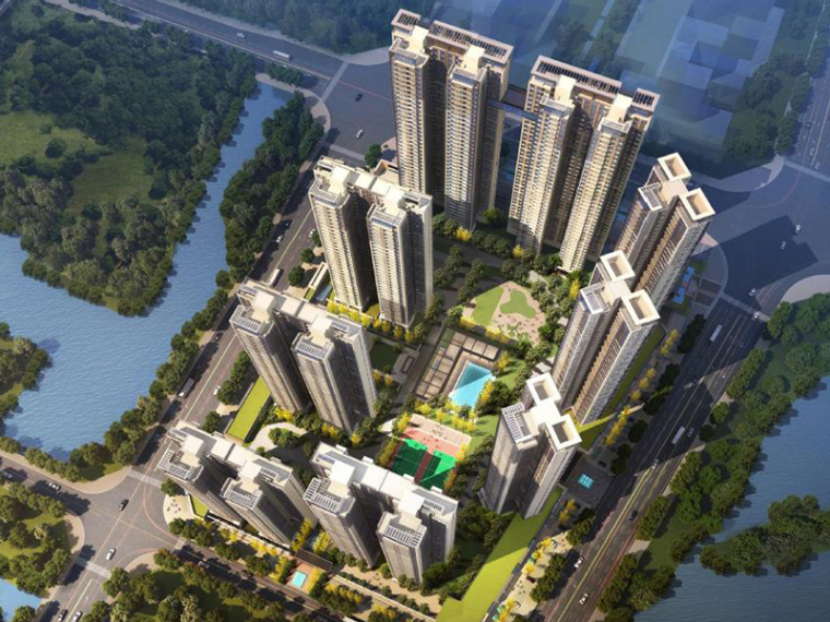 [广东]UDG联创佛山新中式高档居住区规划设计方案高清文本