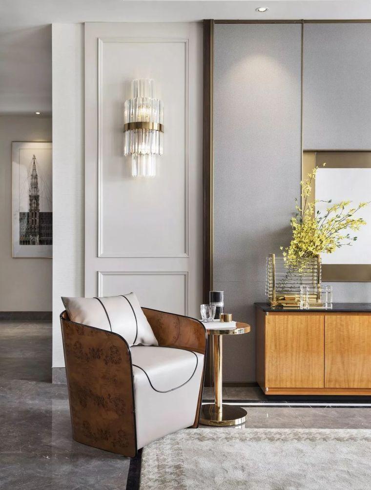 240㎡珍稀优雅豪宅软装设计,创造引领新都市的优质生活空间!_5
