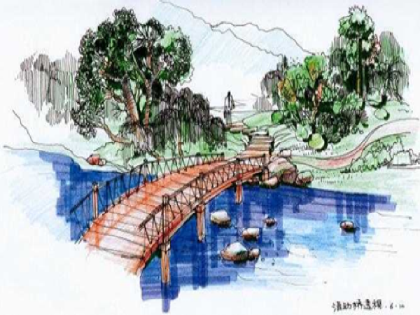 景观小桥设计(PPT总结27页)