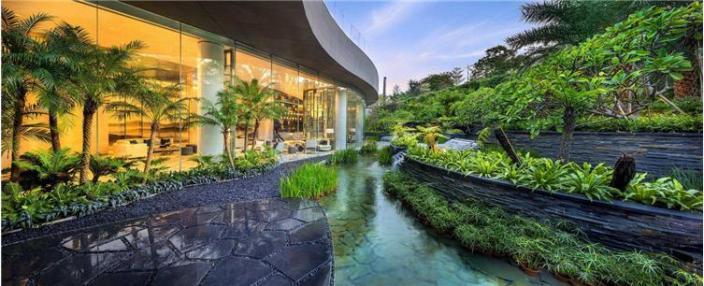 [知名设计公司特辑]走进AECOM的景观规划世界(70套资料在文末)-龙湖天奕住宅景观-4