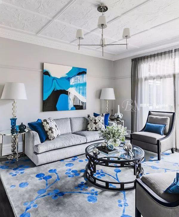 高级灰+蓝色,天生骄傲,打造优雅的高贵感_7