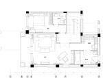 鄂尔多斯B3法式宫廷样板房硬软装设计及意向图(23页)