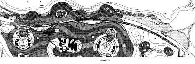 [湖南]岳麓文化环湖文化景观带湿地公园景观设计施工图(附PDF施工图)