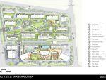 【上海】绿地中央商务区景观规划设计
